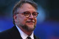 Mexican director Guillermo Del Toro arriving at the award ceremony of the 74th Venice Film Festival on September 9, 2017 at Venice Lido.AFP/Getty Images