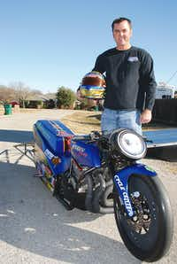 Lake Dallas resident Shane Eperjesi says his racing has given him a confidence that allows him to never give up on what he wants to achieve in life.John D. Harden - DRC