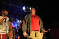 Wild Bill kept verses coming fast and furious without a fumble at a beats and rap battle at Hailey's Club on March 1. He wasn't competing, but was featured in a short show.Lucinda Breeding - DRC