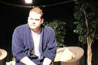 Ron (Mike Stephens) unburdens himself in 'Atrium.' Six lost souls come together in an upscale, unnamed mental hospital to confront their demons and get well. Performances are 7:30 p.m. on Friday and Saturday, March 28 & 29 and 2 p.m. on Sunday. At the POINTBank Black Box Theatre, 318 E. Hickory. $15. Rated R for strong language and sexual themes.Lucinda Breeding
