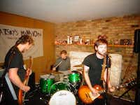 Denton punk trio Varsity Cheeleader doesn't bring any pompoms to the yard, and they don't need no stinkin' megaphones. Catch the local band at Macaroni Island on Tuesday.Courtesy photo