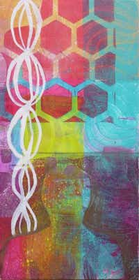 Mixed media printmaker Crystal Nelson will have work featured at A Creative Art Studio on from 7 to 10 p.m. on Friday, Aug. 1, 2014 during the First Friday Arts Mixer. The monthly mixer is a network of open-house gatherings at downtown galleries and shops in Denton.<252>Courtesy photo