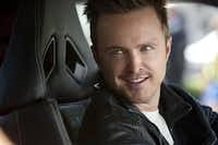 "Aaron Paul stars as underground car driver Tobey Marshall in ""Need for Speed.""Melinda Sue Gordon"