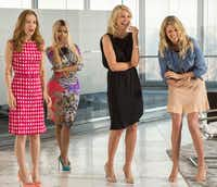 "Leslie Mann, left, Nicki Minaj, Cameron Diaz and Kate Upton star in ""The Other Woman.""Barry Wetcher"
