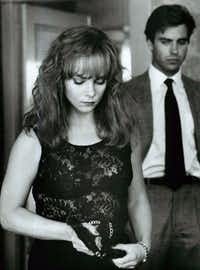 Theresa Russell plays Lottie, an undercover cop in Impulse, with Jeff Fahey as the kinder, gentler district attorney. Impulse is one of just four films directed by Sondra Locke.Warner Bros.