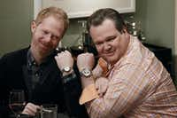 The third season of Modern Family — starring Jesse Tyler Ferguson, left, and Eric Stonestreet — is coming to DVD.ABC