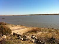 Water levels at Millers Creek Reservoir receded by 4 feet in 2013, or 11.2 percent of its capacity.Adrian O'Hanlon