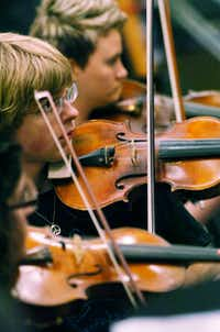 The Odysseus Chamber Orchestra is a newly-formed professional, nonprofit chamber orchestra, Tuesday, May 1, 2012 in Denton, TX.David Minton