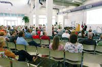 Town Hall meeting with Rep. Michael Burgess, Wednesday, June 13, 2012, at the Center for the Visual Arts in Denton, TX.David Minton