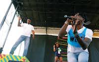 Big Freedia performs Saturday at the Hot Wet Mess.DRC/David Minton