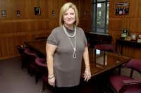 New executive director Pam Gutierrez in the board room at the Denton County Mental Health/Mental Retardation Center Tuesday October 2, 2012, in Denton.Al Key