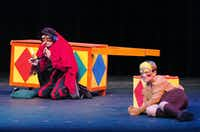 """Pinocchio Comedia"" by Denton Community Theatre Theatre School at the Campus Theatre, Tuesday, November 6, 2012, in Denton, TX.David Minton - DRC"