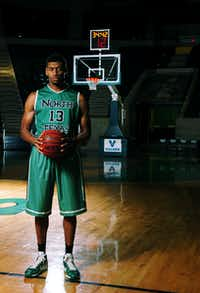 University of North Texas sophomore basketball player Tony Mitchell, Tuesday, November 6, 2012, at The Super Pit in Denton, TX.David Minton - DRC