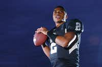 Guyer sophomore quarterback Jerrod Heard, Wednesday, November 16, 2011, in Denton, Texas.David Minton