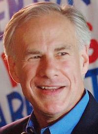 Greg Abbott speaks Tuesday during a campaign stop at El Guapo's.Al Key