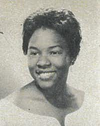 Alsenia Dowells poses for a 1962 Texas Woman's University yearbook photo. Dowells was the first African American admitted to TWU in 1961, but left after one year.Courtesy photo