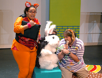 Texas Woman's University continues its summer children's theater offerings with Bunnicula, a play about a dangerous Bunny and the pair of house pets who figure out the bunny's secret, Wednesday, June 12, 2013, at the Texas Woman's University Redbud Theater Complex in Denton, TX. David Minton/DRCDavid Minton - DRC