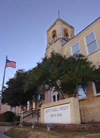 City Hall West at 221 N. Elm St. is shown Jan. 5 in Denton.Al Key