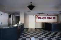 The Fine Arts Theater, shown Thursday, has sat vacant for about two years.Jeff Woo