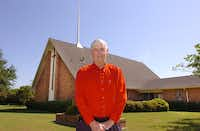 The Rev. John Lindsay is leaving First Cumberland Presbyterian Church on Stuart Road in Denton after 24 years of service.Al Key