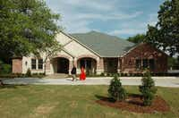 The new University House at Texas Woman's University was built to replace the previous 1954 house.Al Key