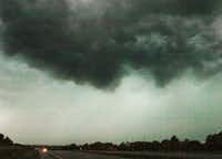 A squall line with a lowering cloud base over U.S. 380 west of Denton Tuesday May 21, 2013.Al Key - DRC