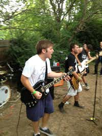 The Kremlings are sure to caterwaul, claw their guitars and pummel the drums at Saturday's show.Courtesy photo