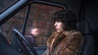 "Scarlett Johansson stars in ""Under the Skin,"" in which she plays an alien come to Earth to kill, seduce and maim men. Or then again, maybe not.A24 Films"