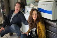 "Cameraman Vern (Will Arnett) and reporter April (Megan Fox) stumble onto a big story in ""Teenage Mutant Ninja Turtles.""<137>Mark Fellman<137><137><252><137>"