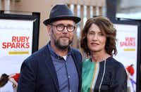 Directors Jonathan Dayton and Valerie Faris arrive at the premiere of Ruby Sparks last month in Los Angeles.AP/Invision