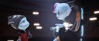 "Aliens get animated and run into peril on a dangerous planet in ""Escape From Planet Earth.""The Weinstein Co."