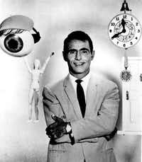 "Rod Serling created the landmark TV series ""The Twilight Zone,"" whose second season is available for home viewing.Dallas Morning News file photo"