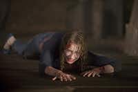 Kristen Connolly plays one of five friends whose weekend getaway goes awry in The Cabin in the Woods.Lionsgate