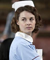 Jessica Raine stars in the BBC series Call the Midwife.PBS