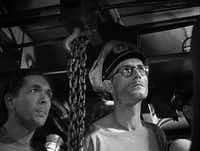 """A motley lot of Nazis board a submarine hoping to find refuge in """"The Damned"""" (""""Les Maudits""""), a 1947 film from suspense director Rene Clement.Cohen Film Collection"""