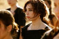 Nadine Labaki plays Amale in Where Do We Go Now?, which tells the story of women's efforts to keep the peace between Muslims and Christians in their village.Sony Pictures Classics