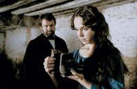 BBC's Madame Bovary stars Frances O'Connor as Emma Bovary and Hugh Bonneville as her husband, Charles.BBC