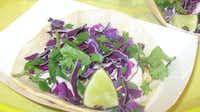 Rusty Taco's lineup of tacos includes grilled mahi mahi, baja shrimp and barbecue brisket.Karina Ramírez - DRC