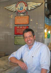 Conner Cupit is the owner and CEO of Greenbriar Restaurant Holdings LLC, which opened the new Rusty Taco franchise locationKarina Ramírez - DRC