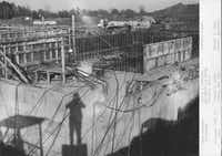 This 1962 photo shows progress on the Federal Regional Center in Denton. The facility has two levels below ground.Courtesy photo - FEMA