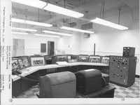 The radio room in the Federal Regional Center is shown in late 1963 as the facility neared completion. The room was designed to be shielded from the electromagnetic pulse created by a nuclear explosion.Courtesy photo - FEMA