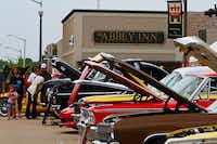 Classic cars are always a favorite at the Arts, Antiques & Autos Extravaganza on the downtown Square.DRC file photo