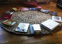 Place books around the edge of your rug for a couple days. This will help keep it from curling.Courtesy photo