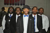 Members of the Zeta Beta Chapter of Phi Beta Sigma Fraternity.Donald Thomas - Courtesy photo