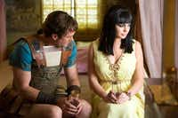 "Grant Bowler and Lindsay Lohan star as Richard Burton and Elizabeth Taylor in ""Liz & Dick,"" a the Lifetime Original Movie."