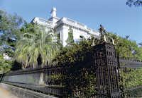 Elaborate ironwork is shown outside a building in Savannah, Ga.Jim Stodola - Courtesy photo