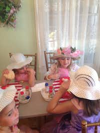 Six-year-old Zoe celebrated her birthday at Scrumptious on June 23, 2013. The restaurant has a tea room and is owned by Lynn Maher.Cybil Grigsby - Contributed photo